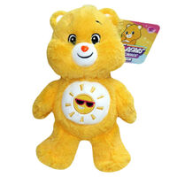 Care Bears Funshine Bear Unlock the Magic Plush Toy 20cm Yellow image