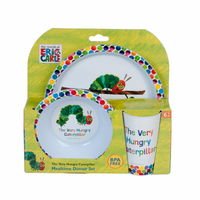 The Very Hungry Caterpillar 3 Piece Dinner Set image