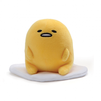 Gudetama Signature Sitting Plush Toy 12cm image