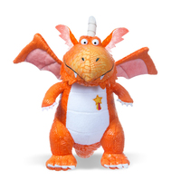 Zog Dragon Plush Toy Orange Medium 25cm image
